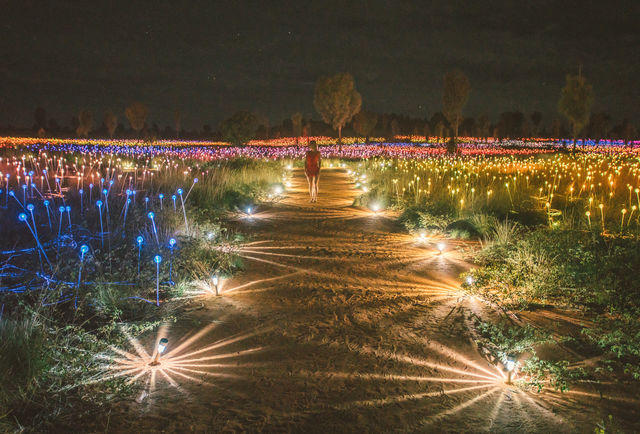 Field of lights, Ayers Rock