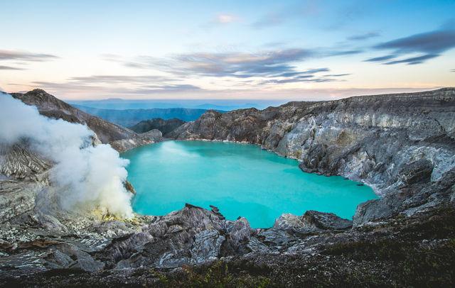 Ijen-vulkaan, Java