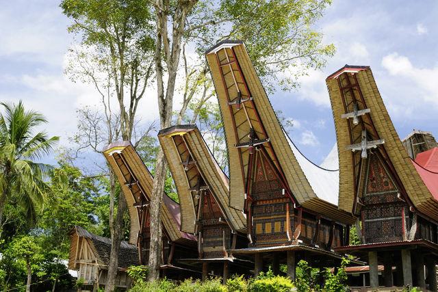 Tongkonan, Tana Toraja, Sulawesi