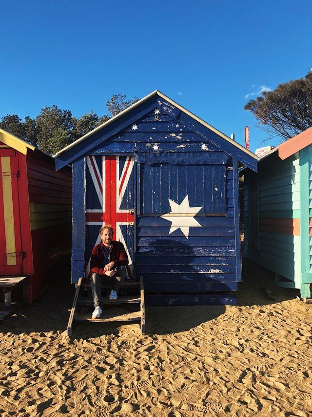 Reisspecialist Jelmer bij Brighton Beach