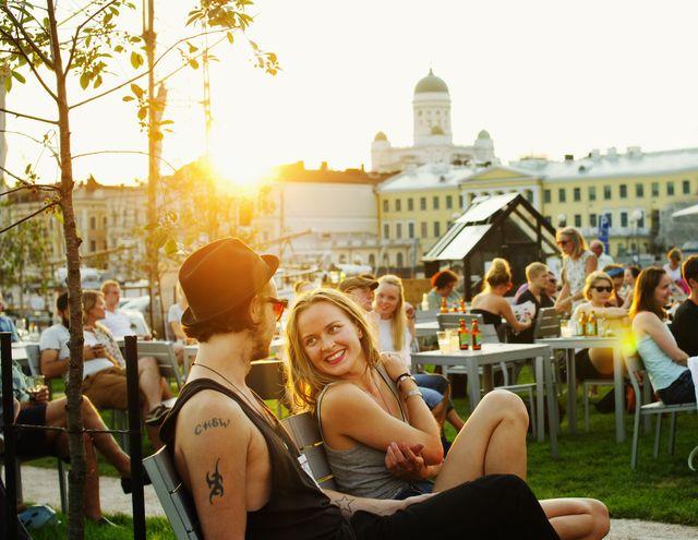 Terras in Helsinki
