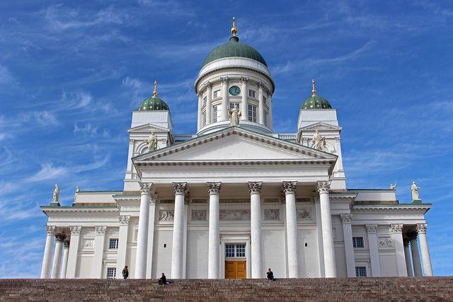 Kathedraal in Helsinki