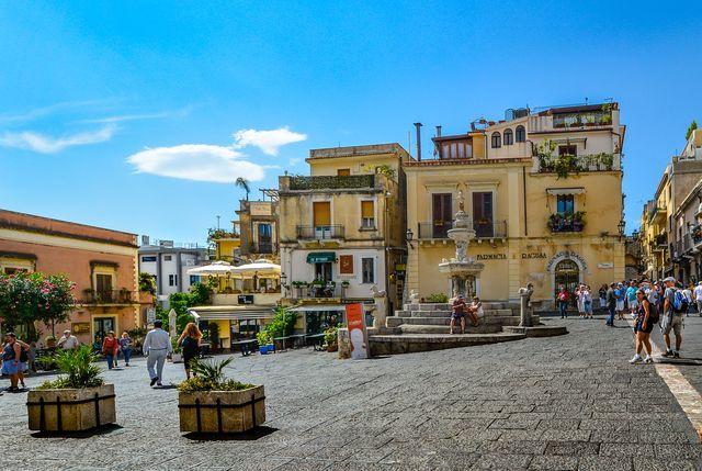 Taormina, Sicilië