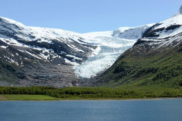 Gletsjer beklimmen Noorwegen
