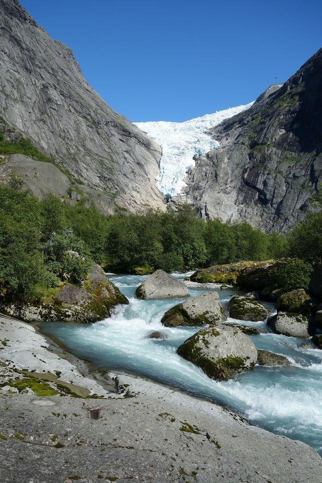 Briksdal gletsjer