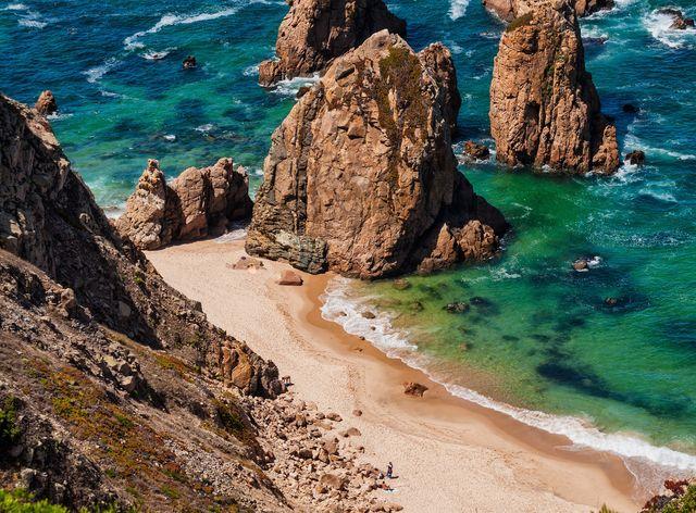 Portugal, sintra strand