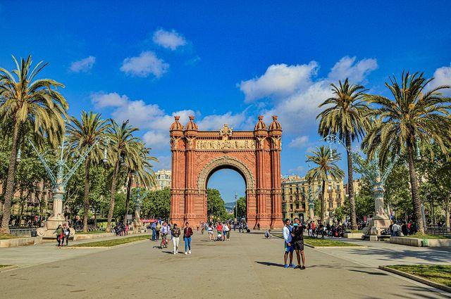 Arc de Triompf in Barcelona