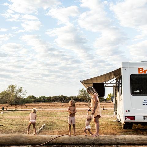 Australië camperreis met kids