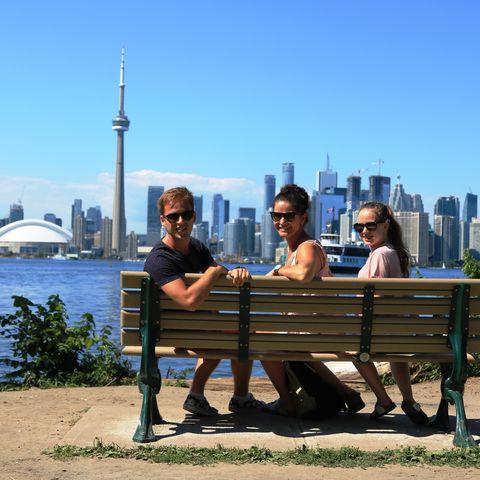 Canada Toronto met Kinderen