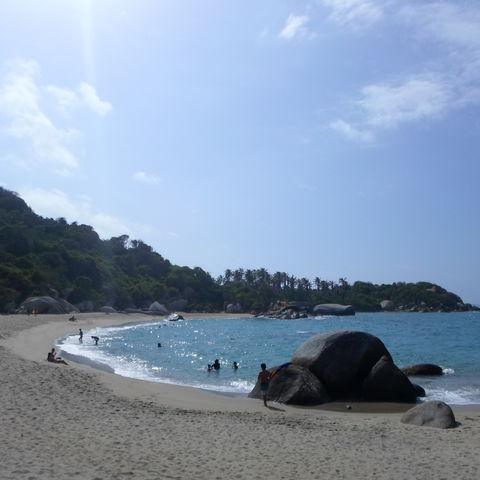 Familiereis Colombia Guajira strand