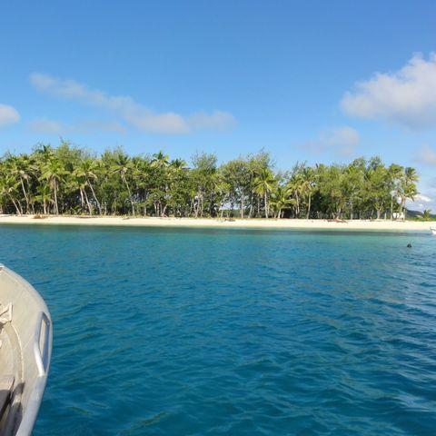 Fiji met kinderen
