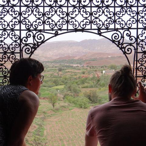 Gezinsreis Marokko uitzicht