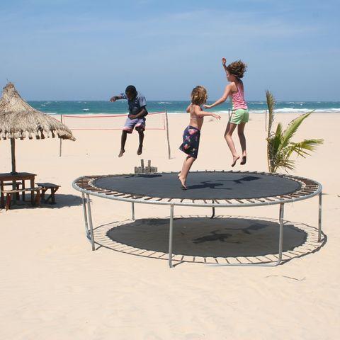 Mozambique met kinderen