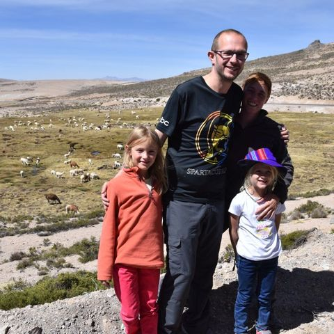 Gezinsreis Peru Chivay onderweg