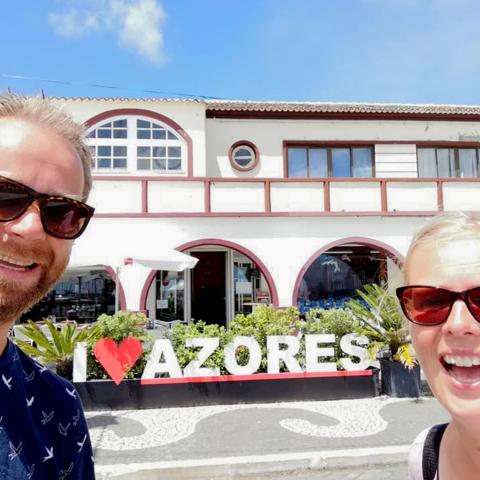 Familiereis Azoren