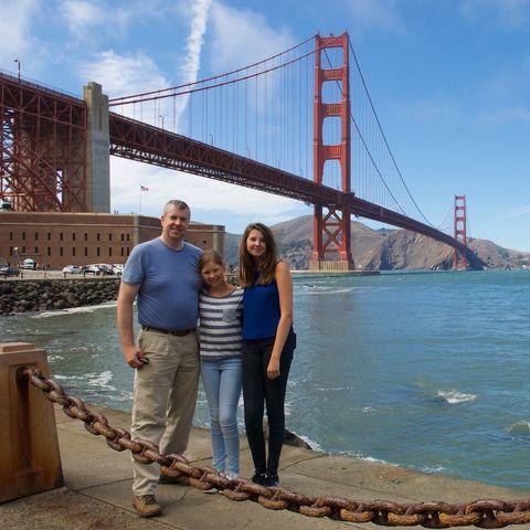 Familiereis West-Amerika San Francisco brug