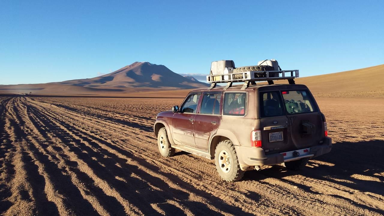 Onderweg in Desierto de Siloli