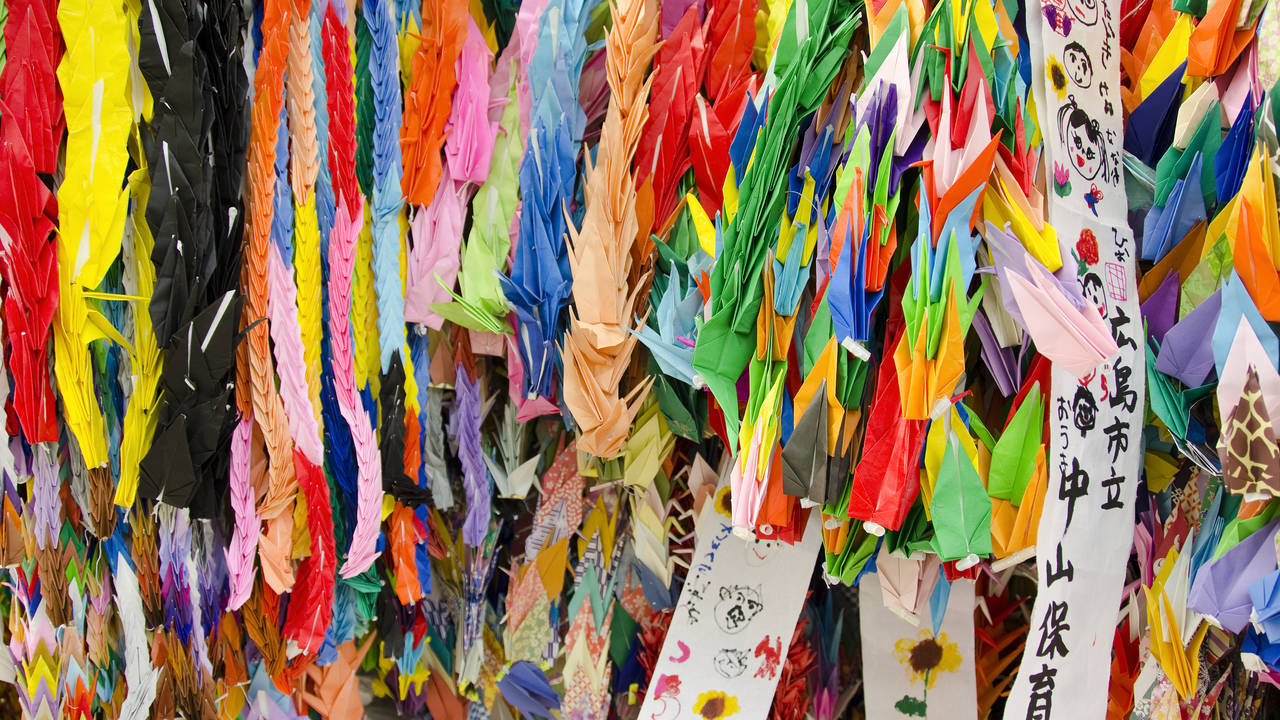 Kleurrijk Hiroshima