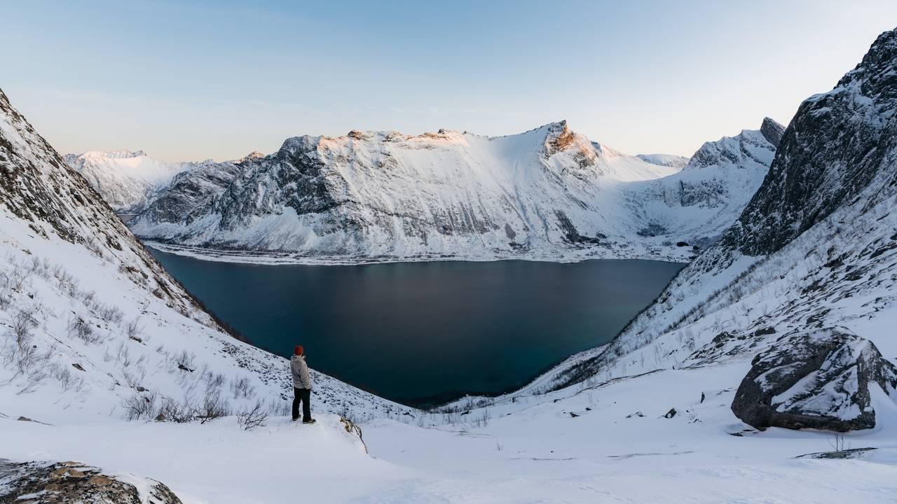 Winters Gryllefjord