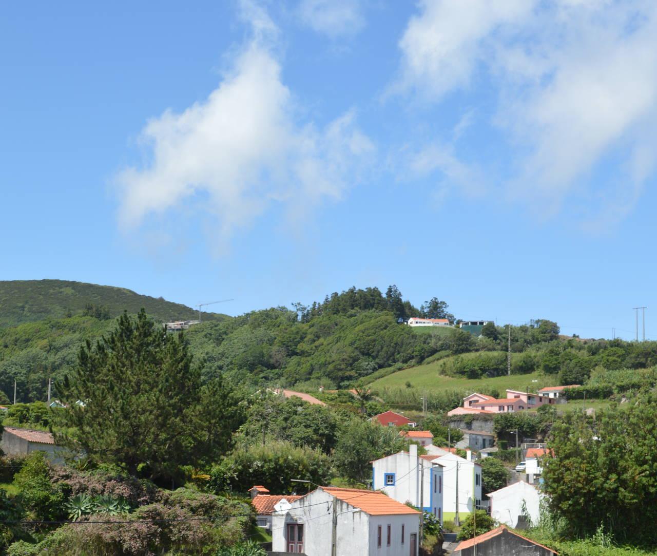 Bergdorp in Faial