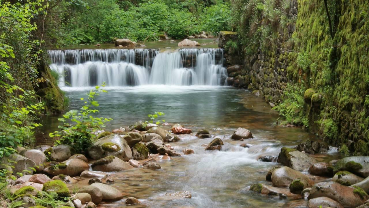 Waterval nabij Braga
