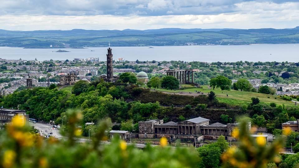 Uitzicht Edinburgh
