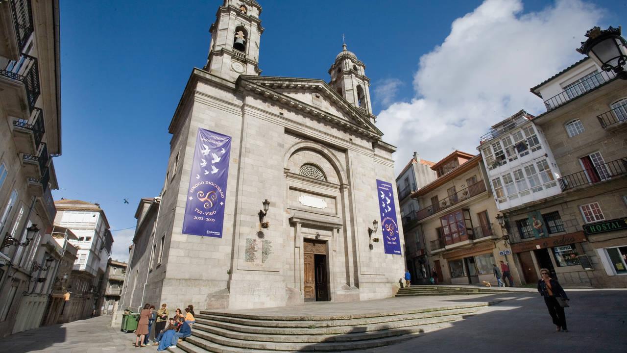 Kathedraal in Vigo