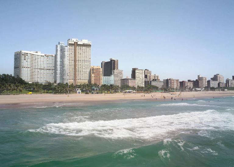 Skyline van Durban