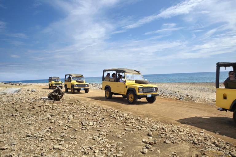 Jeepsafari op Aruba