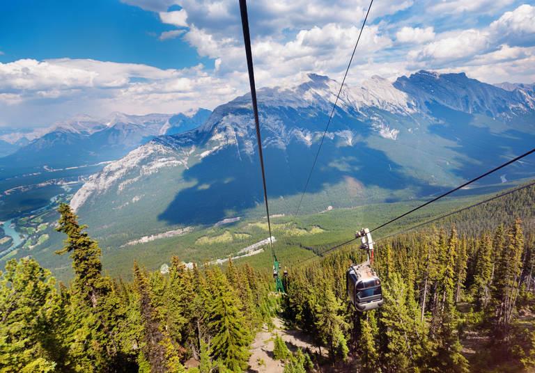 Banff National Park Gondels
