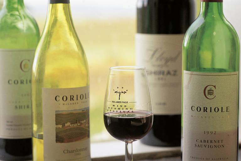 De wijngaarden van Barossa Valley