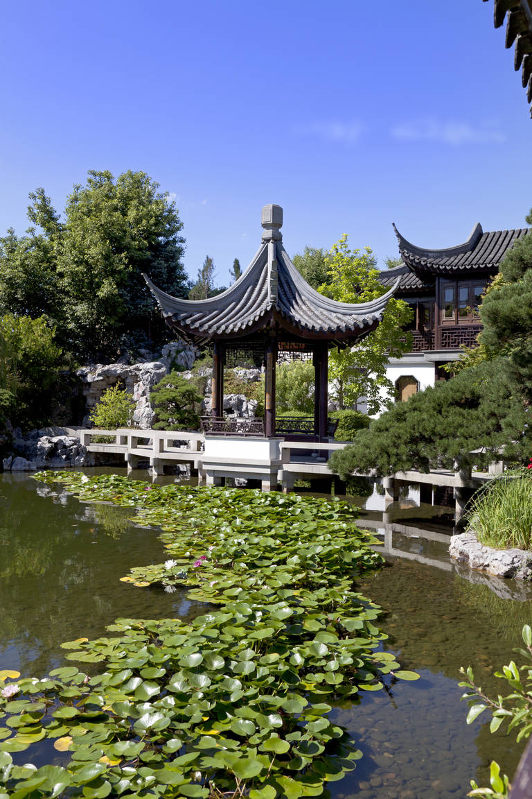Chinese tuin in Portland
