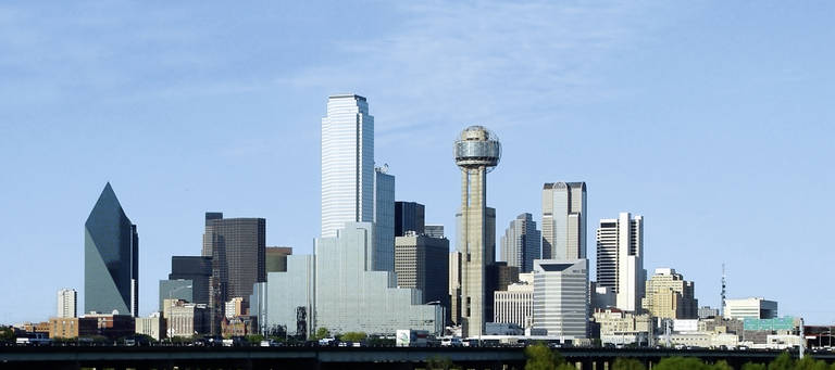 Skyline van Dallas