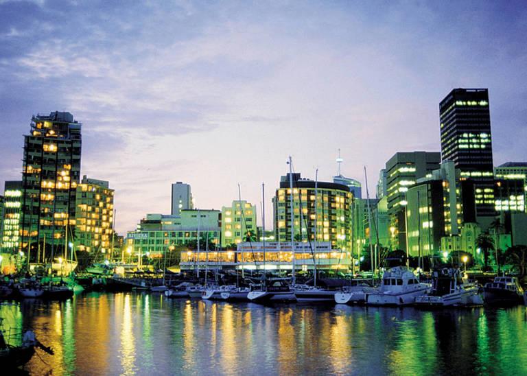 De haven van Durban