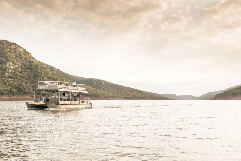Boottocht op Lake Jozini