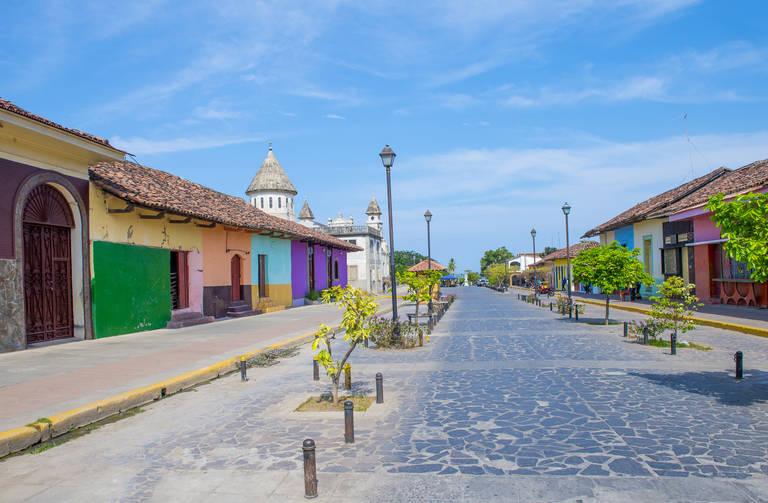 Straatbeeld Granada