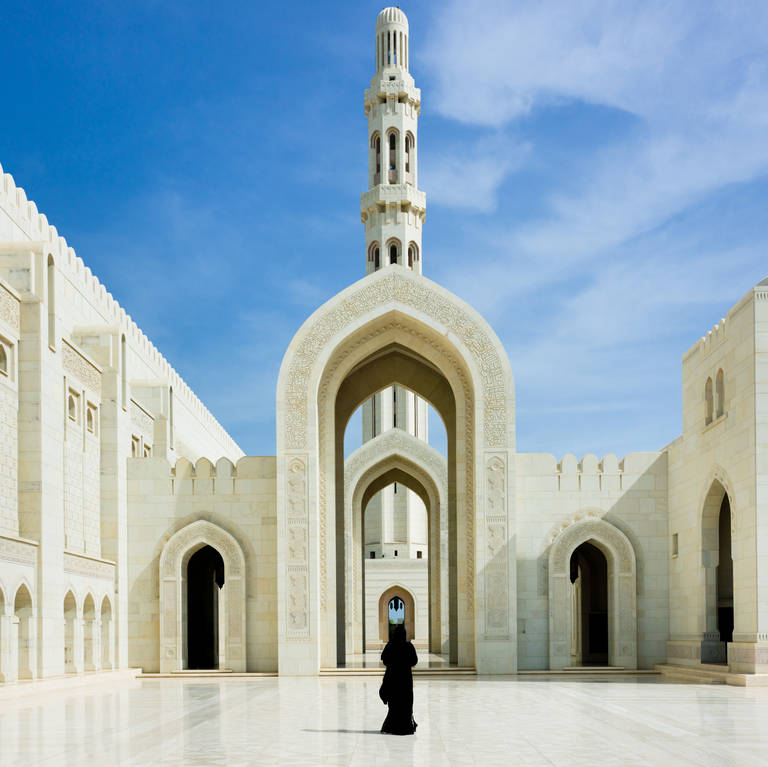 Sultan Qaboes-moskee, Muscat