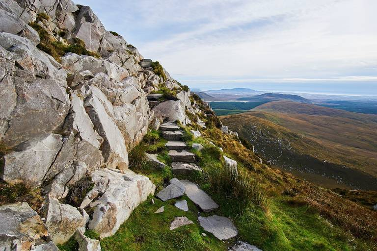 Wandelpad nabij Galway