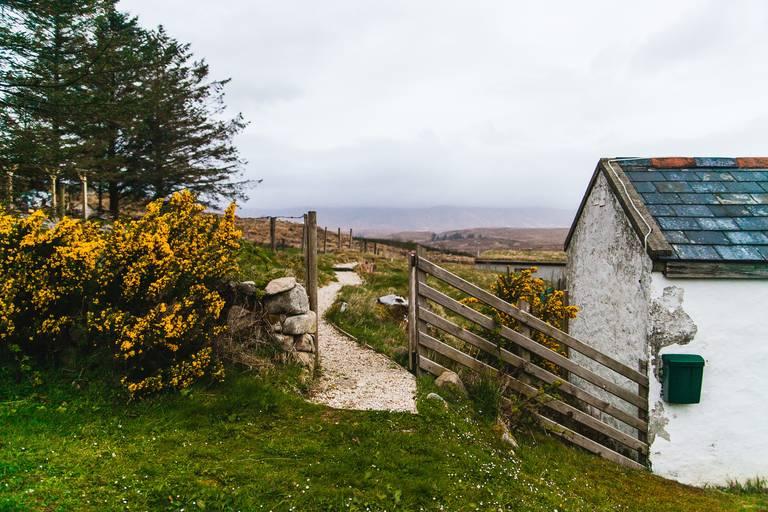 Landschap van Donegal