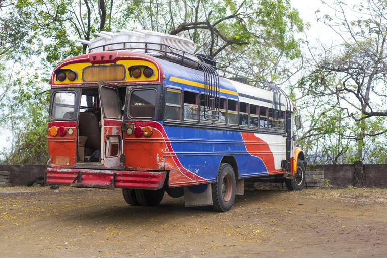 lokale bus in Nicaragua