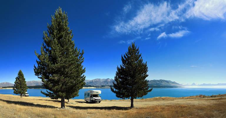 Met de camper door Nieuw-Zeeland