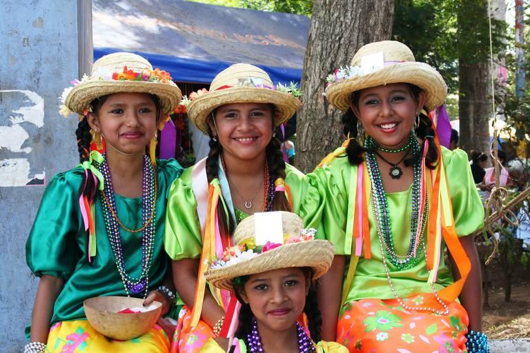 Traditionele vrouwen in Nicaragua