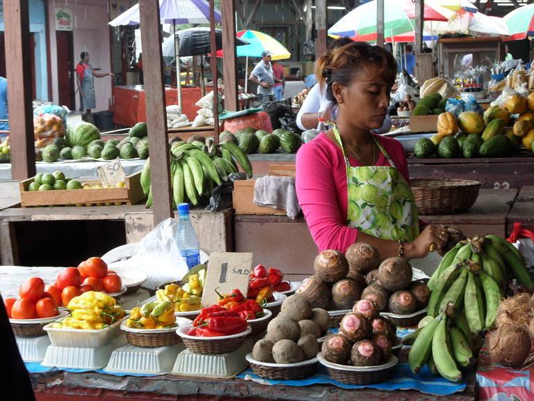 Markt in Paramaribo