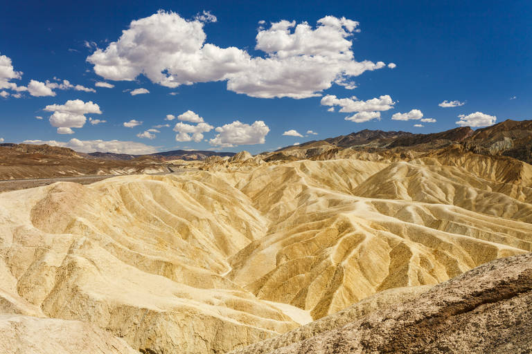 Uitzicht vanaf Zabriskie Point in Death Valley N.P.
