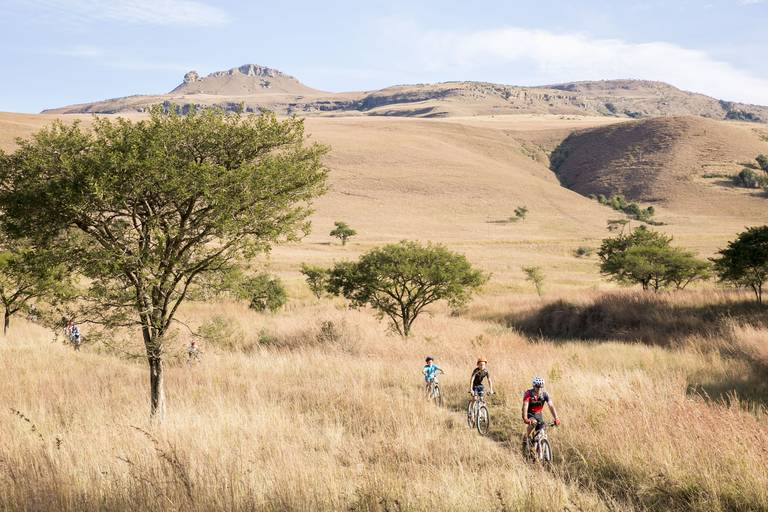 Mountainbiken in Drakensbergen