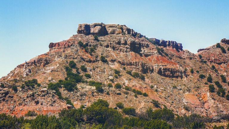 Landschap rondom Amarillo