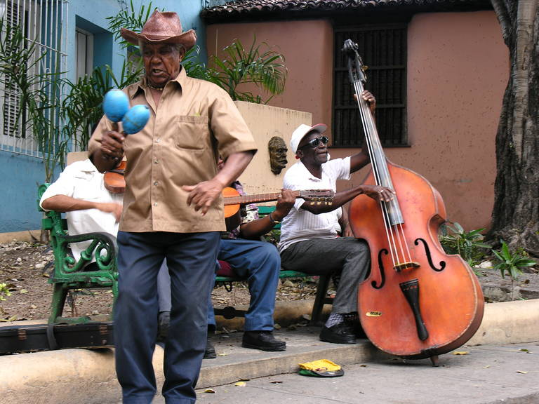 Straatmuzikanten, Cuba