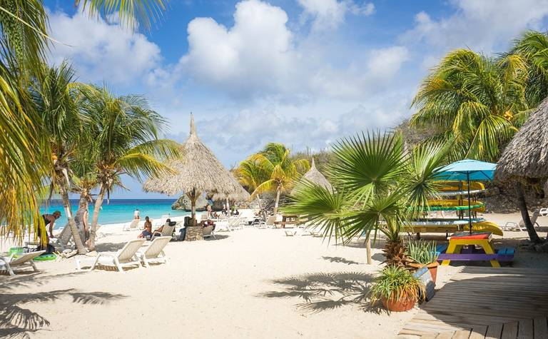 Strand van Curaçao
