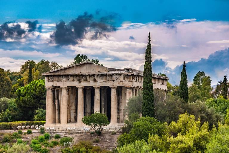 Tempel Hephaistos in Athene