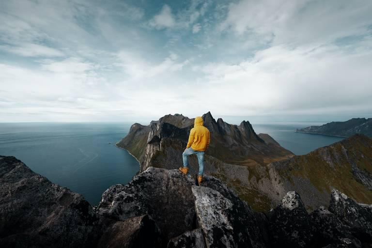 Bergen van de Gryllefjord